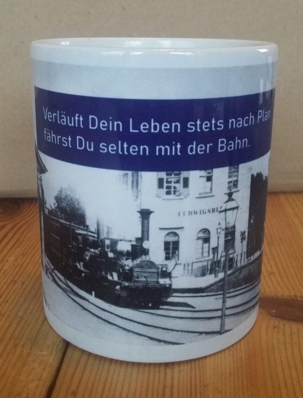 Porzellanbecher Deutsche Bahn